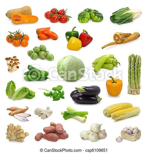 蔬菜, 彙整 - csp6109651