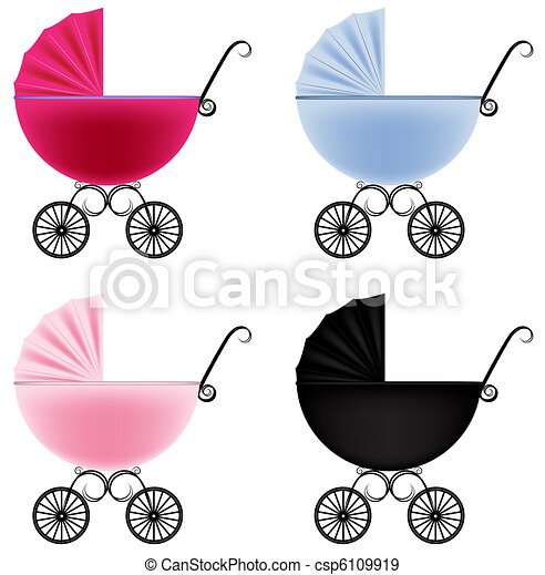 Baby carriage - csp6109919