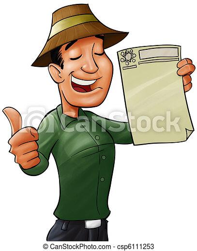 qualified worker - csp6111253