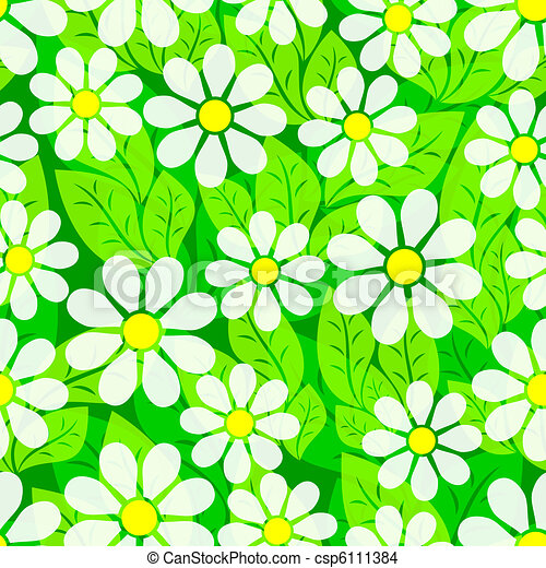Vegetative seamless background. - csp6111384