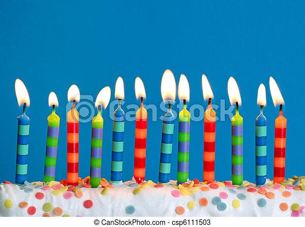 蜡燭, 生日 - csp6111503