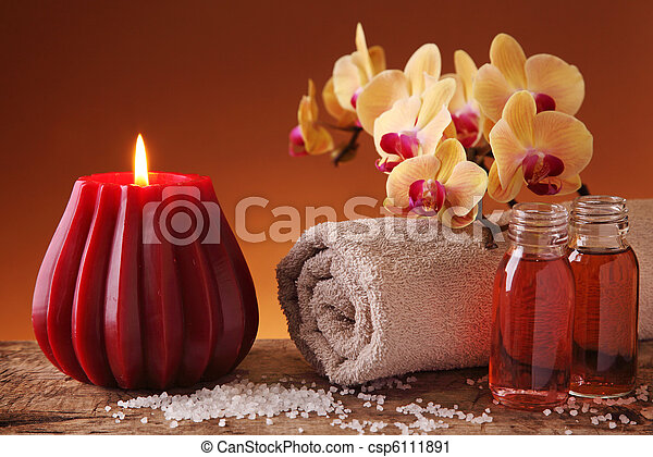 Spa still life - csp6111891