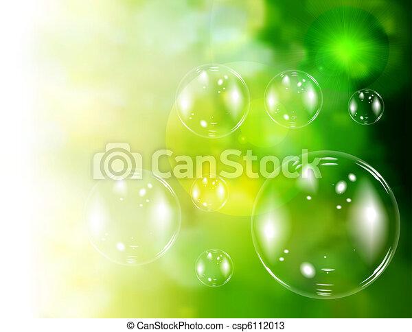 Soap bubbles - csp6112013