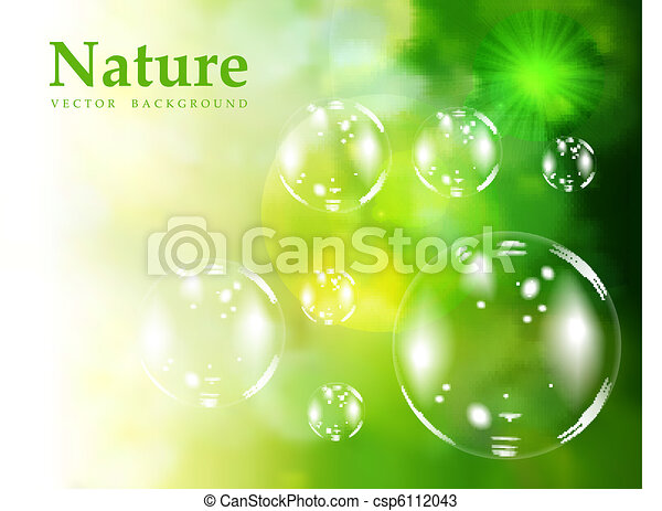 Soap bubbles - csp6112043