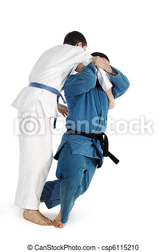 Judo fighting competition - csp6115210