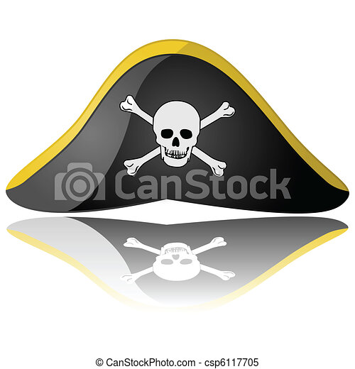 Pirate hat - csp6117705