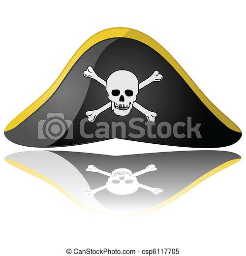 Pirate hat - csp6117705