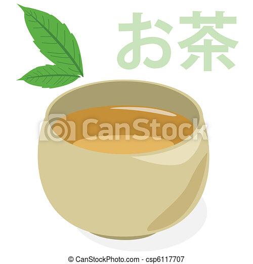 Green tea - csp6117707
