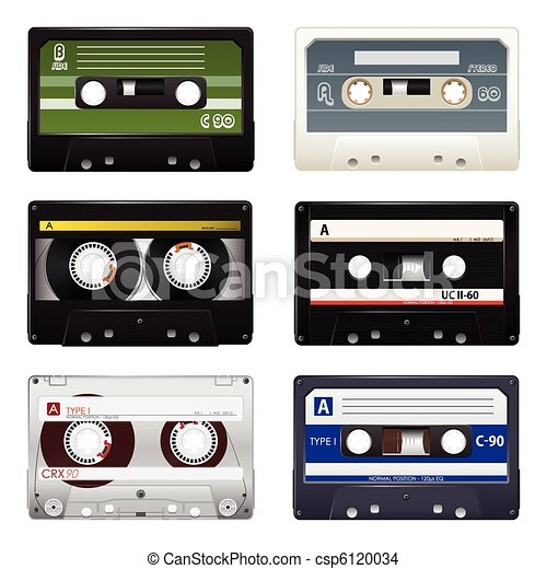 Vector audio cassettes  - csp6120034