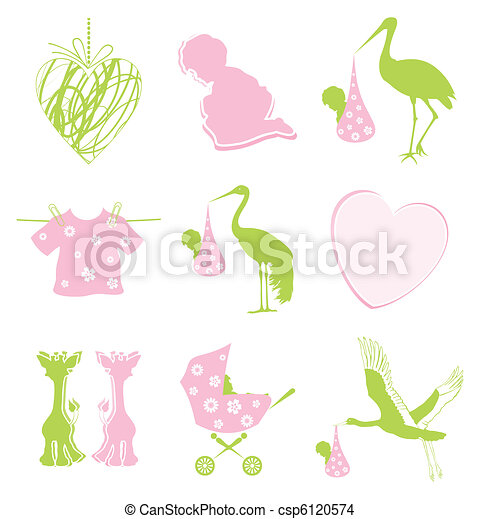Birth icon - csp6120574