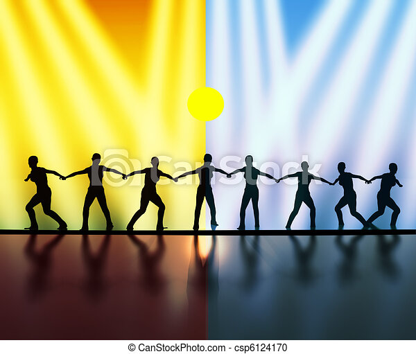 Teamwork - Teamspirit - csp6124170