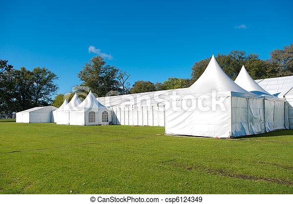 large event tent - csp6124349