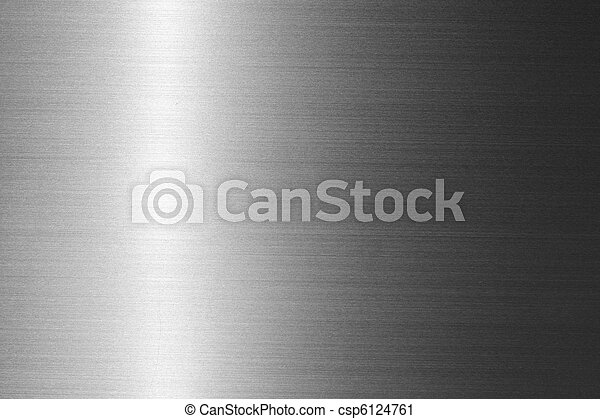 Brushed metal plate - csp6124761