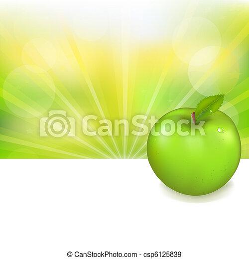 Green Apple  - csp6125839