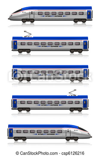 InterCity Express train set - csp6126216