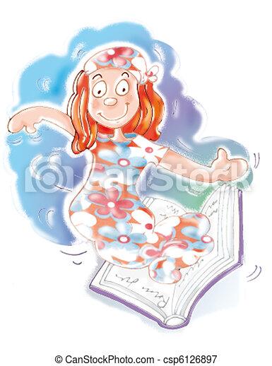 Genius open book - csp6126897