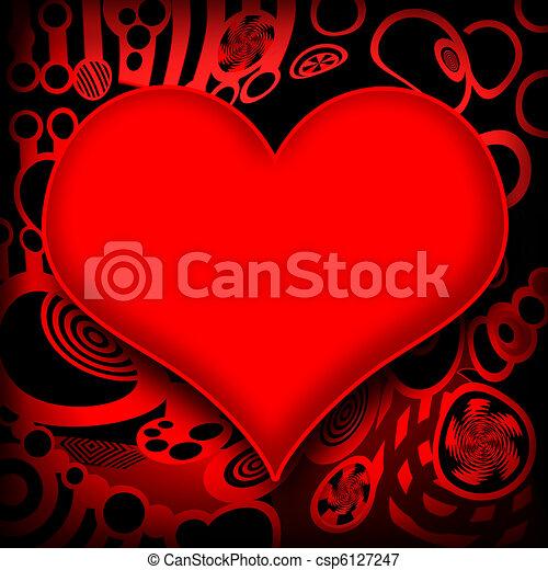 Heart - csp6127247