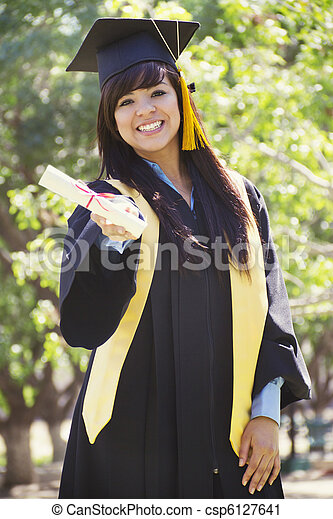 Graduation Day - csp6127641