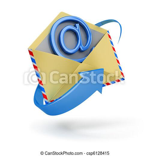 internet message - csp6128415