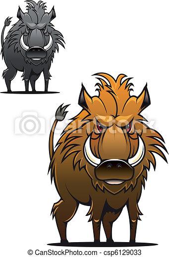 Wild boar - csp6129033
