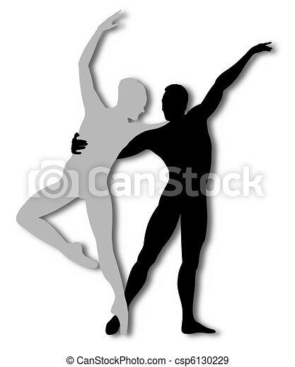 Contemporary dance - csp6130229