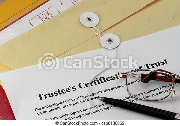 Trust certificate - csp6130662