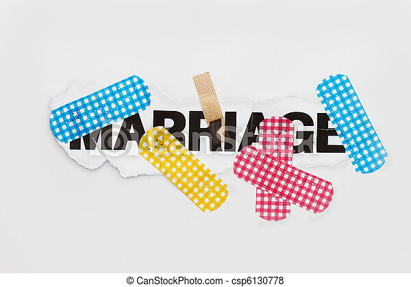 Marriage repair abstract - csp6130778