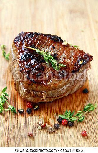 juicy sirloin beef - csp6131826
