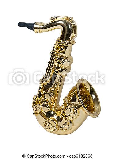 Fat Saxophone - csp6132868