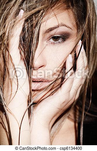 Glamorous woman - csp6134400