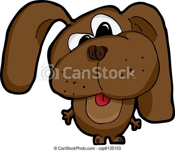 Silly Dog - csp6135103