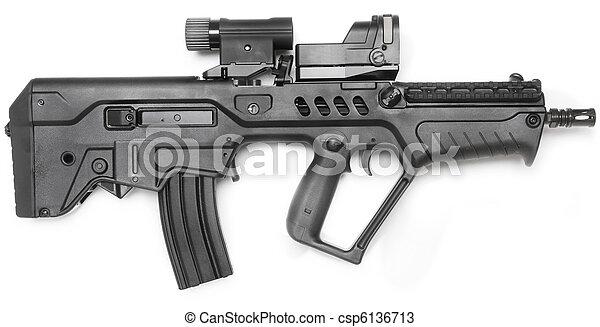 mashine gun - csp6136713