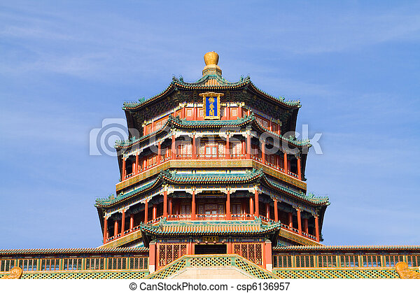 Tower of the Fragrance of the Buddh - csp6136957