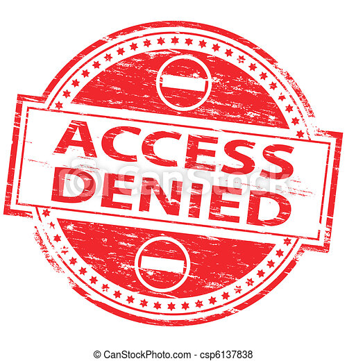 Access Denied Stamp - csp6137838