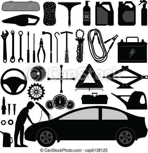 Car Auto Accessories Repair Tool - csp6138125
