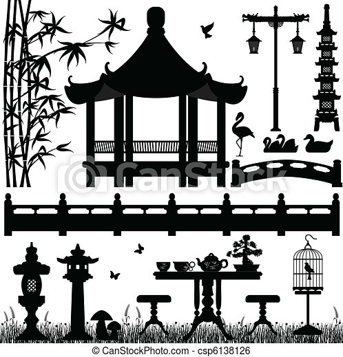 Garden Park Outdoor Recreational - csp6138126