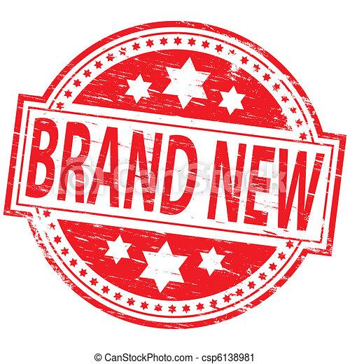 Brand New Stamp - csp6138981
