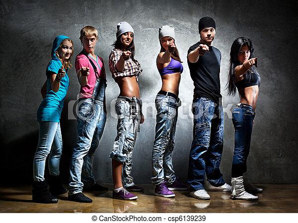 Dancer team - csp6139239