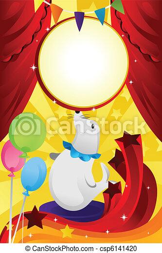 Circus theme - csp6141420