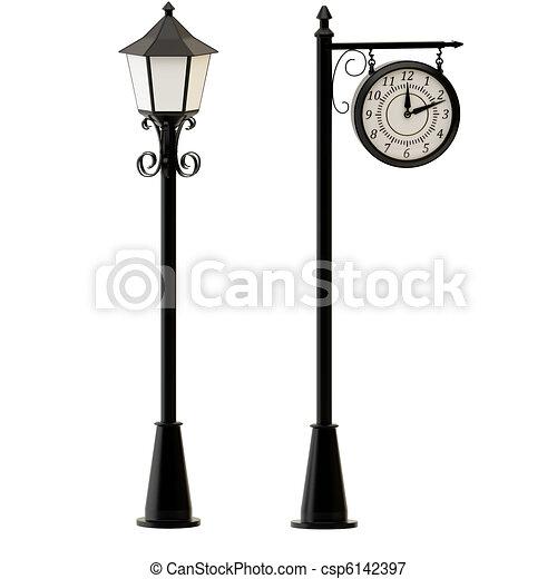Old street light Illustrations and Clip Art. 2,052 Old street ...