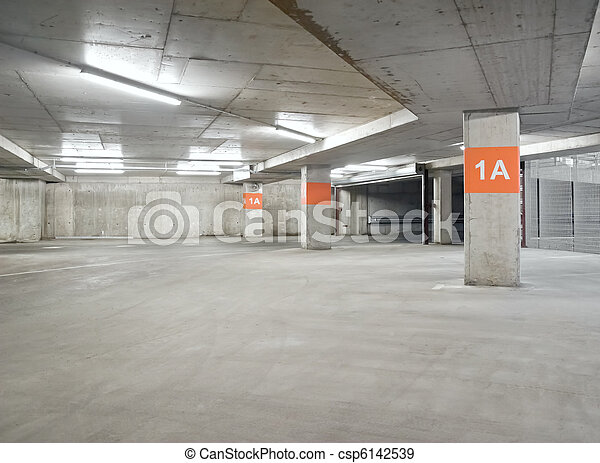 Parking lot - csp6142539