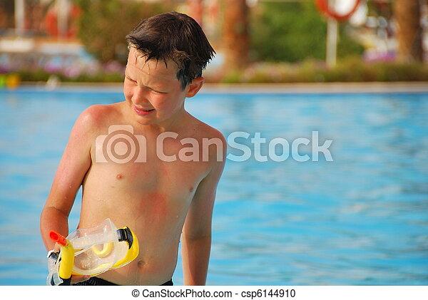Swimmer - csp6144910