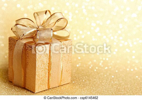 Christmas gift box - csp6145462