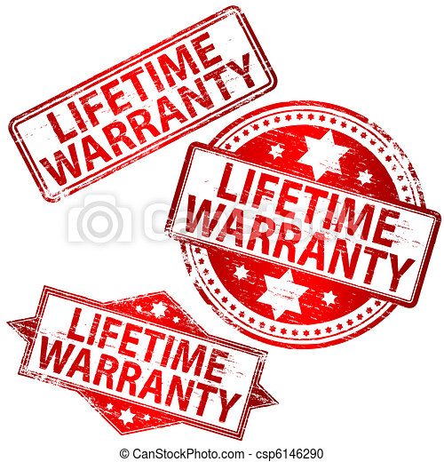 Lifetime Warranty Stamp - csp6146290