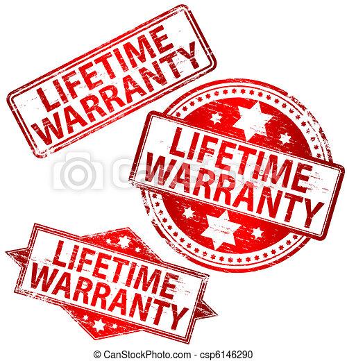 Lifetime Warranty Stamp - csp6146290
