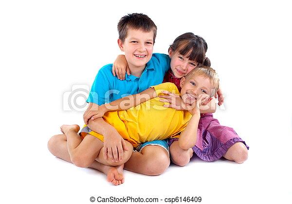 Happy Children - csp6146409