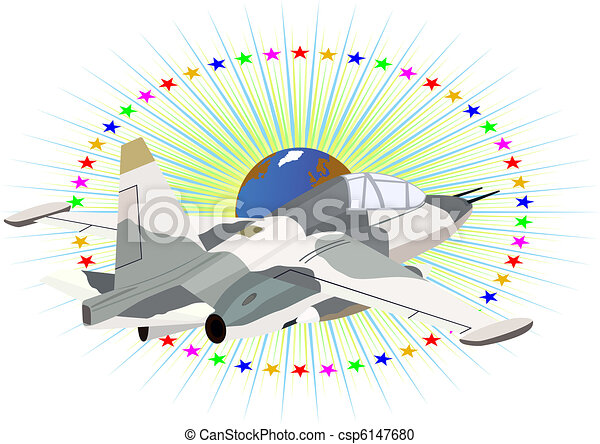 Fighter deck aircraft - csp6147680