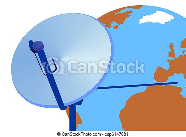 Satellite antenna - csp6147681