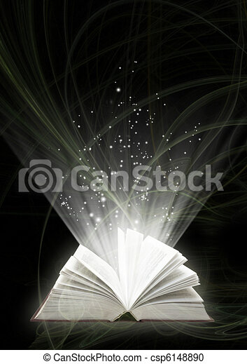 Magic book - csp6148890