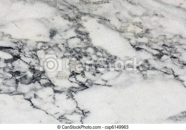 Surface of polished Marble Slab - csp6149963